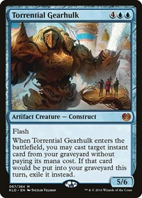 Torrential Gearhulk, Magic, Kaladesh