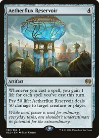 Aetherflux Reservoir, Magic: The Gathering, Kaladesh