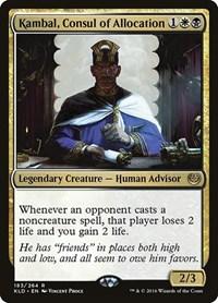 Kambal, Consul of Allocation, Magic: The Gathering, Kaladesh