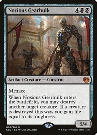 Noxious Gearhulk, Magic, Kaladesh