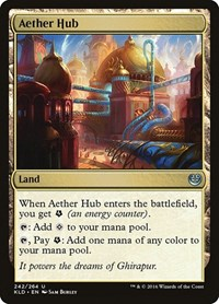 Aether Hub, Magic: The Gathering, Kaladesh