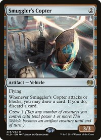 Smuggler's Copter, Magic, Kaladesh
