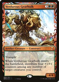 Verdurous Gearhulk, Magic: The Gathering, Masterpiece Series: Kaladesh Inventions