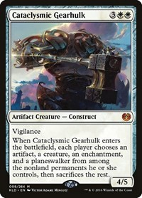 Cataclysmic Gearhulk, Magic: The Gathering, Kaladesh