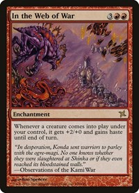 In the Web of War, Magic: The Gathering, Betrayers of Kamigawa