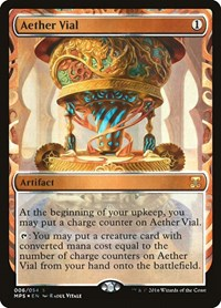 Aether Vial, Magic: The Gathering, Masterpiece Series: Kaladesh Inventions