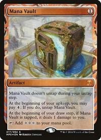 Mana Vault, Magic: The Gathering, Masterpiece Series: Kaladesh Inventions