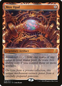 Mox Opal, Magic: The Gathering, Masterpiece Series: Kaladesh Inventions