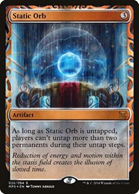 Static Orb, Magic: The Gathering, Masterpiece Series: Kaladesh Inventions