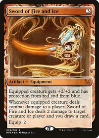 Sword of Fire and Ice, Magic, Masterpiece Series: Kaladesh Inventions
