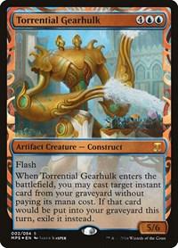 Torrential Gearhulk, Magic: The Gathering, Masterpiece Series: Kaladesh Inventions