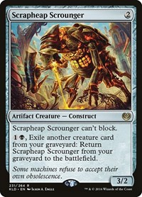 Scrapheap Scrounger, Magic: The Gathering, Kaladesh