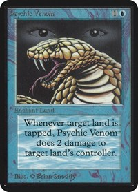 Psychic Venom, Magic, Alpha Edition