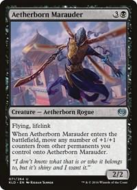 Aetherborn Marauder, Magic: The Gathering, Kaladesh