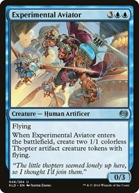 Experimental Aviator, Magic: The Gathering, Kaladesh