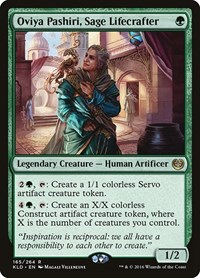 Oviya Pashiri, Sage Lifecrafter, Magic: The Gathering, Kaladesh