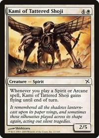 Kami of Tattered Shoji, Magic, Betrayers of Kamigawa