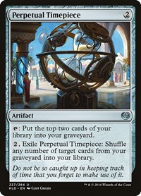 Perpetual Timepiece, Magic: The Gathering, Kaladesh