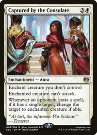 Captured by the Consulate, Magic: The Gathering, Kaladesh