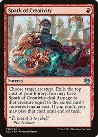 Spark of Creativity, Magic: The Gathering, Kaladesh