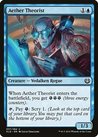 Aether Theorist, Magic: The Gathering, Kaladesh