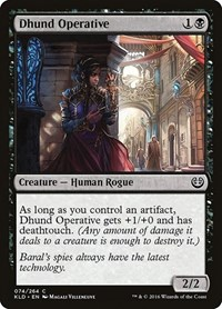 Dhund Operative, Magic: The Gathering, Kaladesh