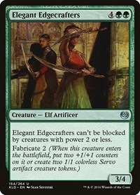 Elegant Edgecrafters, Magic: The Gathering, Kaladesh