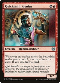 Quicksmith Genius, Magic: The Gathering, Kaladesh