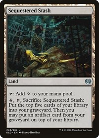 Sequestered Stash, Magic: The Gathering, Kaladesh