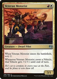 Veteran Motorist, Magic: The Gathering, Kaladesh