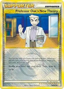 Professor Oak's New Theory - 101/123 (League Promo), Pokemon, League & Championship Cards