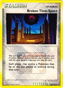 Broken Time-Space - 104/127 (League Promo), Pokemon, League & Championship Cards