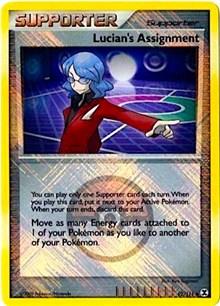Lucian's Assignment - 92/111 (League Promo), Pokemon, League & Championship Cards