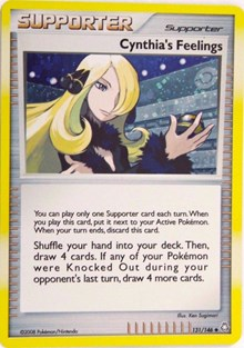 Cynthia's Feelings (Cosmos Holofoil), Pokemon, Miscellaneous Cards & Products