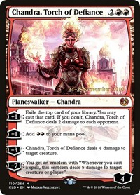 Chandra, Torch of Defiance, Magic, Prerelease Cards