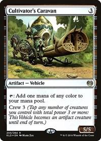 Cultivator's Caravan, Magic: The Gathering, Prerelease Cards