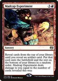 Madcap Experiment, Magic: The Gathering, Prerelease Cards