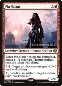 Pia Nalaar, Magic: The Gathering, Prerelease Cards