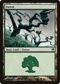 Forest (78), Magic: The Gathering, Duel Decks: Heroes vs. Monsters