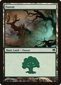 Forest (79), Magic: The Gathering, Duel Decks: Heroes vs. Monsters