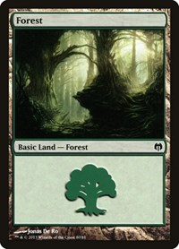 Forest (80), Magic: The Gathering, Duel Decks: Heroes vs. Monsters