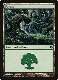 Forest (81), Magic: The Gathering, Duel Decks: Heroes vs. Monsters