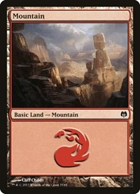 Mountain (35), Magic: The Gathering, Duel Decks: Heroes vs. Monsters