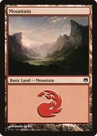Mountain (36), Magic: The Gathering, Duel Decks: Heroes vs. Monsters