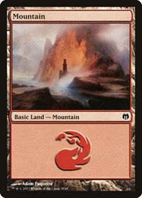 Mountain (38), Magic: The Gathering, Duel Decks: Heroes vs. Monsters