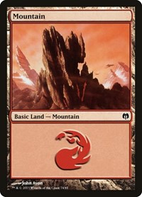 Mountain (74), Magic: The Gathering, Duel Decks: Heroes vs. Monsters