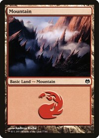 Mountain (77), Magic: The Gathering, Duel Decks: Heroes vs. Monsters