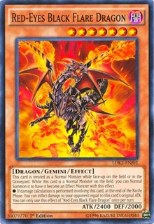 Yugioh Common Red-Eyes Fusion English 1st Edition Near Mint LDS1-EN017