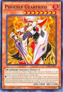 Phoenix Gearfried, YuGiOh, Legendary Decks II