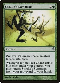 Sosuke's Summons, Magic: The Gathering, Betrayers of Kamigawa